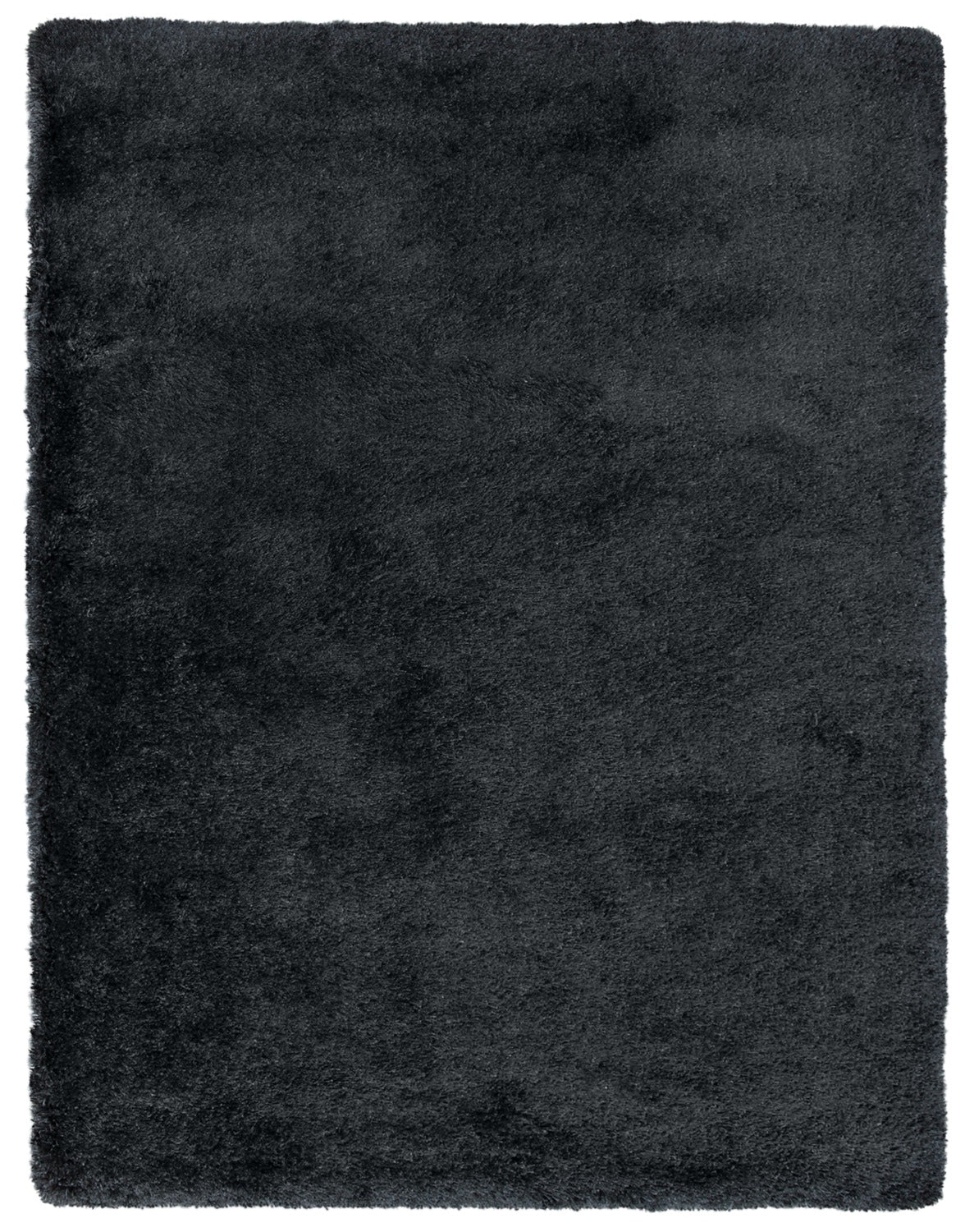 Luxe 5 3 X 7 5 Shag Area Rug Black The Brick