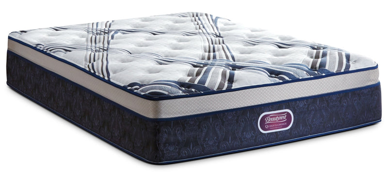 Beautyrest Queen's Choice Buckingham Plush Euro-Top Twin Mattress|Matelas moelleux à Euro-plateau Queen's Choice Buckingham de Beautyrest pour lit simple