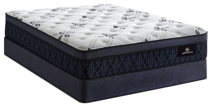 Serta Perfect Sleeper® Watson Firm Euro-Top Queen Mattress Set|Ensemble matelas ferme à Euro-plateau Watson Perfect Sleeper de Serta pour grand lit