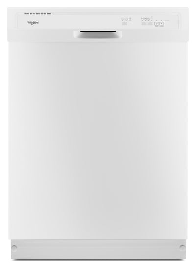 Whirlpool Heavy-Duty Dishwasher with One-Hour Wash Cycle - WDF330PAHW|Lave-vaisselle Whirlpool robuste avec cycle de nettoyage en une heure - WDF330PAHW|WDF330HW