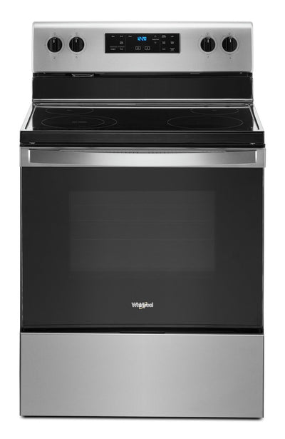 Whirlpool 5.3 Cu. Ft. Electric Range with Frozen Bake™ Technology - YWFE515S0JS - Electric Range in Stainless Steel