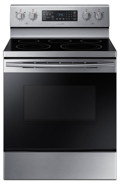 Samsung 5.9 Cu. Ft. Freestanding Electric Convection Range – NE59M4320SS/AC - Electric Range in Stainless Steel