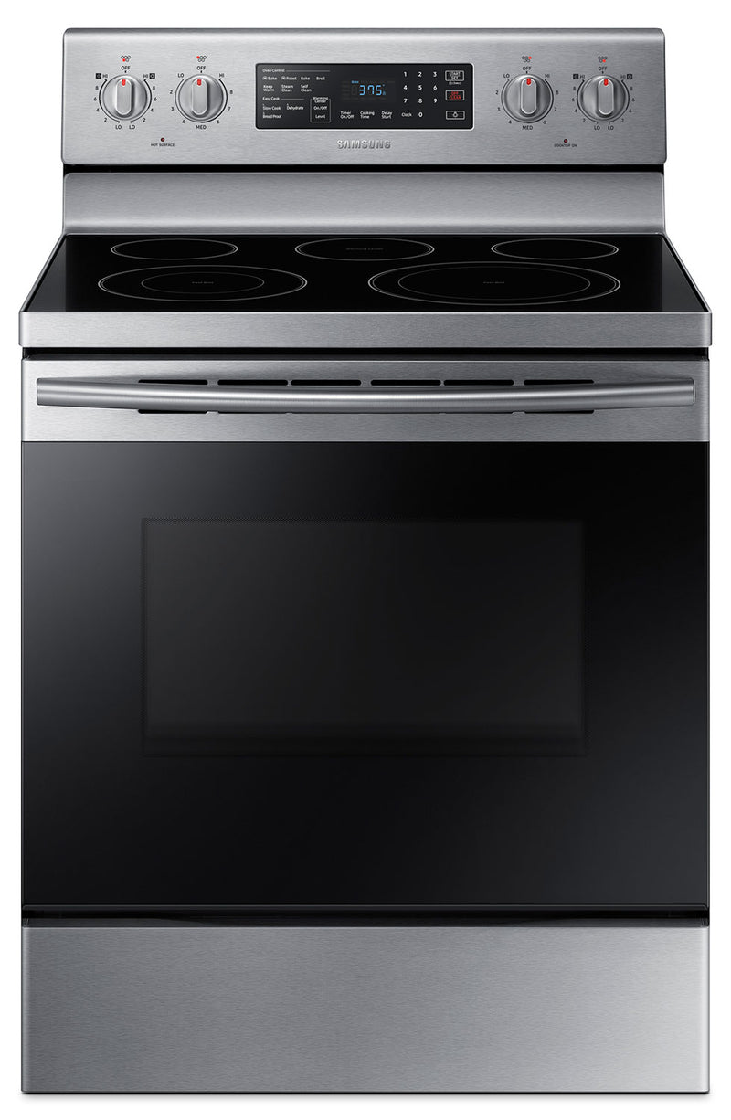 Samsung 5.9 Cu. Ft. Freestanding Electric Convection Range – NE59M4320SS/AC|Cuisinière électrique amovible Samsung de 5,9 pi³ à convection – NE59M4320SS/AC