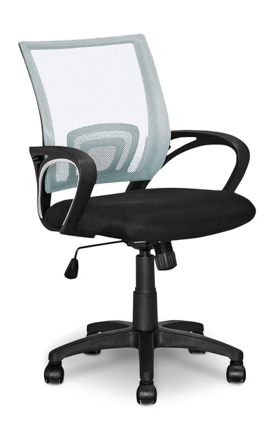 Loft Mesh Office Chair – White - Modern style Office Chair in White