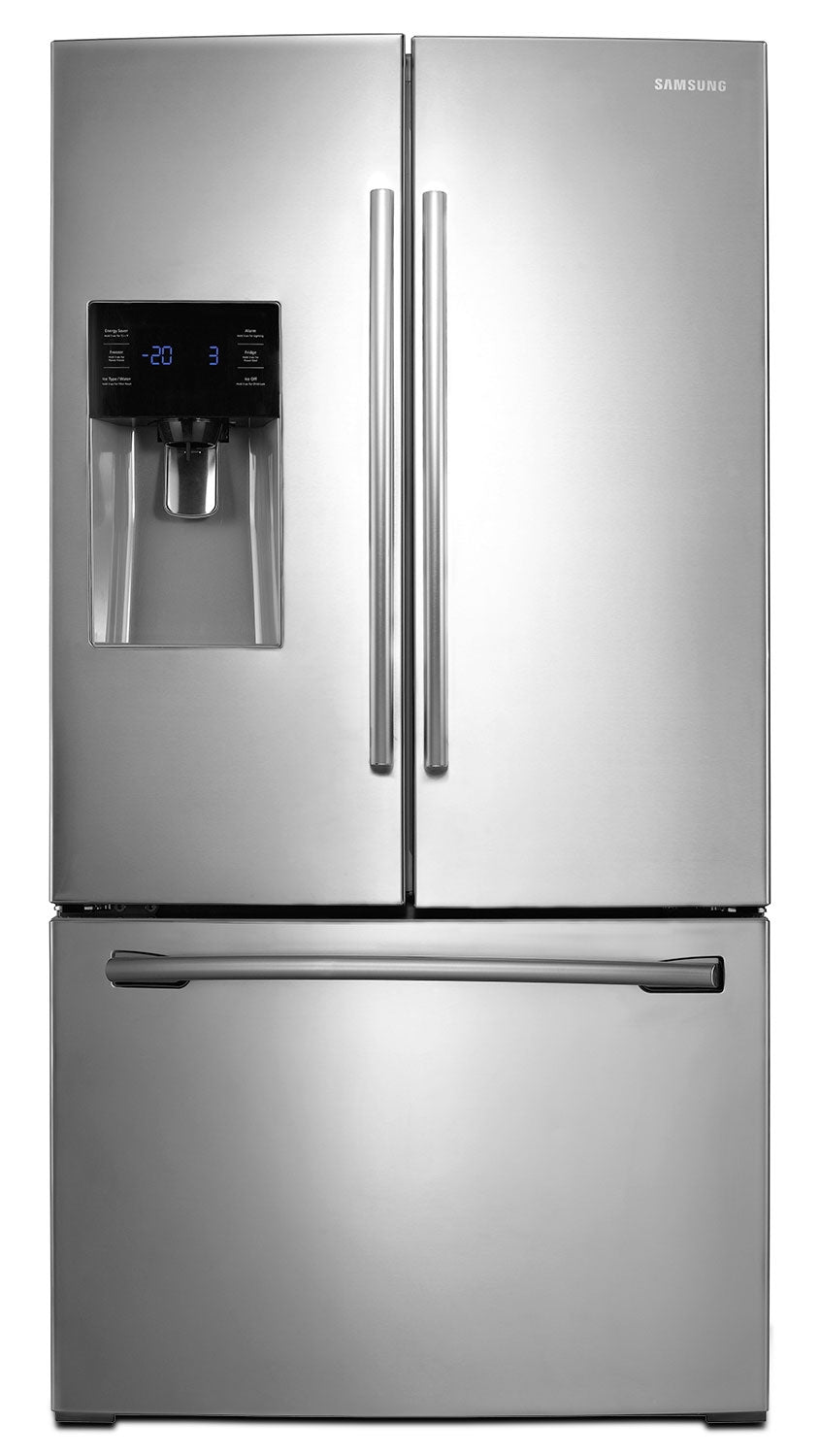Samsung 26 Cu Ft French Door Refrigerator Rf263beaesraa The Brick