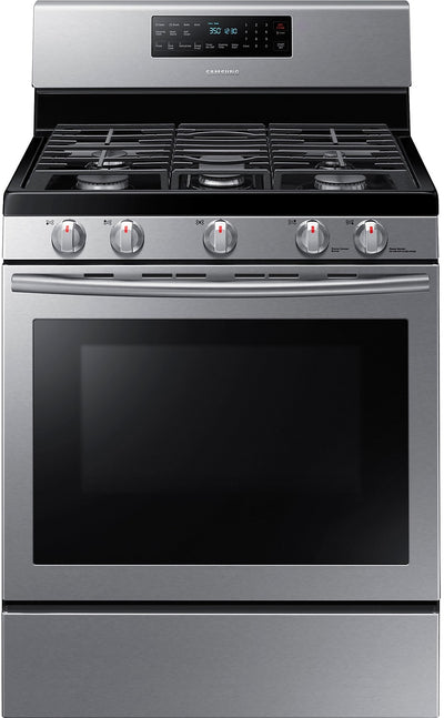 Samsung Free-Standing Gas Range – Stainless Steel - Gas Range in Stainless Steel
