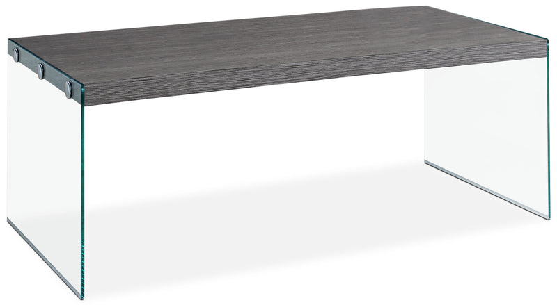 Yonah Coffee Table – Grey|Table à café Yonah - grise|YONGRCTB