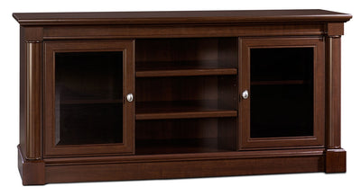 "Palladia 59"" TV Stand – Select Cherry - Traditional style TV Stand in Select Cherry"