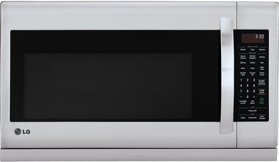 LG 2 Cu. Ft. Over-the-Range Microwave - Stainless Steel - Over-the-Range Microwave in Stainless Steel