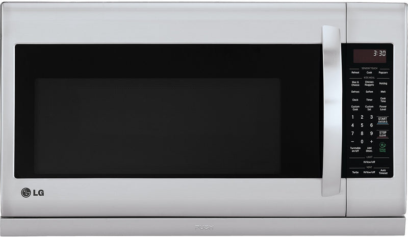LG 2 Cu. Ft. Over-the-Range Microwave - Stainless Steel|Four à micro-ondes à hotte intégrée LG de 2 pi³ - acier inoxydable