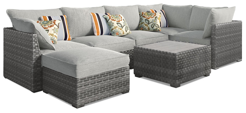 Salem 7-Piece Patio Set|Ensemble Salem 7 pièces pour la terrasse