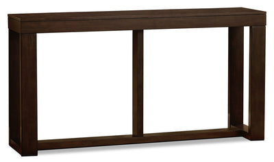 Watson Sofa Table - Contemporary style Sofa Table in Dark Brown Wood