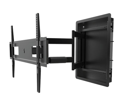 "Kanto TV Mount - Kanto R500 Full Motion Recessed Wall Mount for TVs 46"" to 80"""