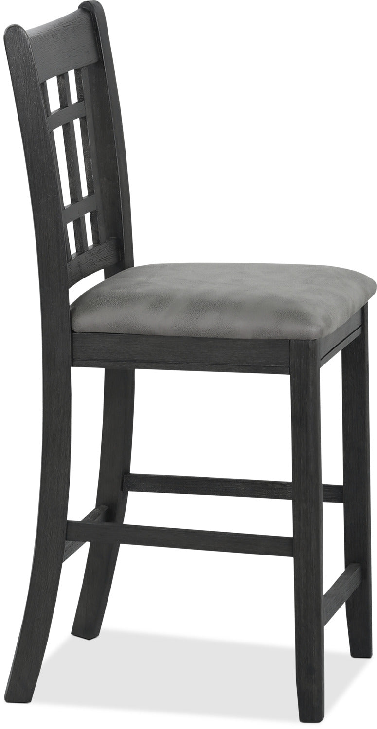 Desi Counter Height Dining Chair Charcoal The Brick