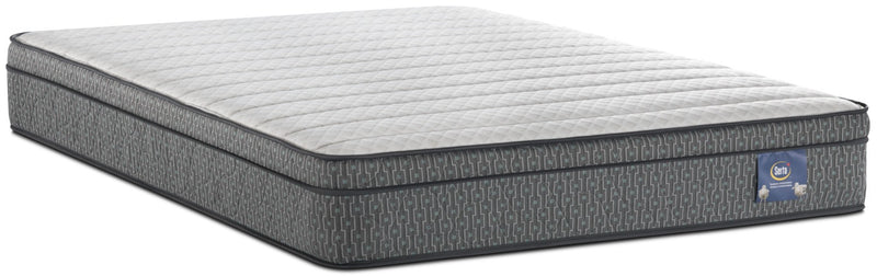 Serta Always Comfortable® Alberto Euro-Top Twin Mattress|Matelas à Euro-plateau Alberto Toujours Confortable de Serta pour lit simple
