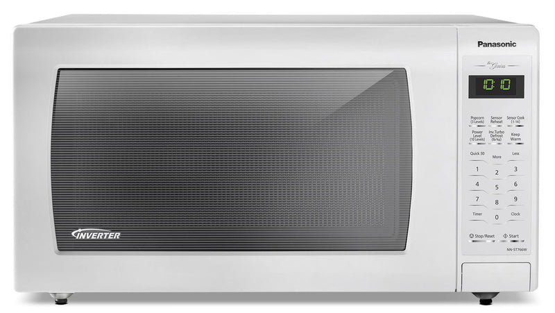 Panasonic Genius 174 1 6 Cu Ft Countertop Microwave Nn