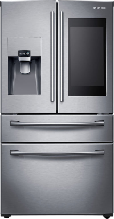 Samsung 28.15 Cu. Ft French-Door Refrigerator with Twin Cooling Plus – RF28NHEDBSR/AC - Refrigerator in Stainless Steel