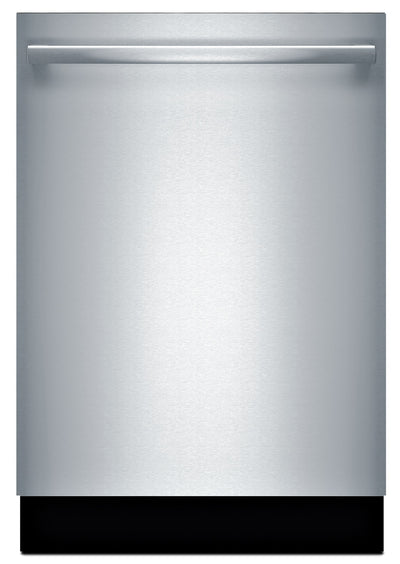 Bosch 100 Series Bar Handle Built-In Dishwasher - SHXM4AY55N - Dishwasher in Stainless Steel