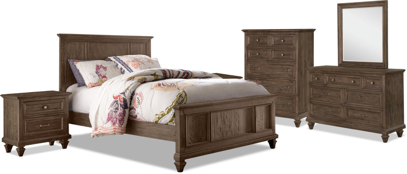 Calistoga Youth 8-Piece Twin Bedroom Package|Ensemble de chambre à coucher Calistoga Youth 8 pièces avec lit simple