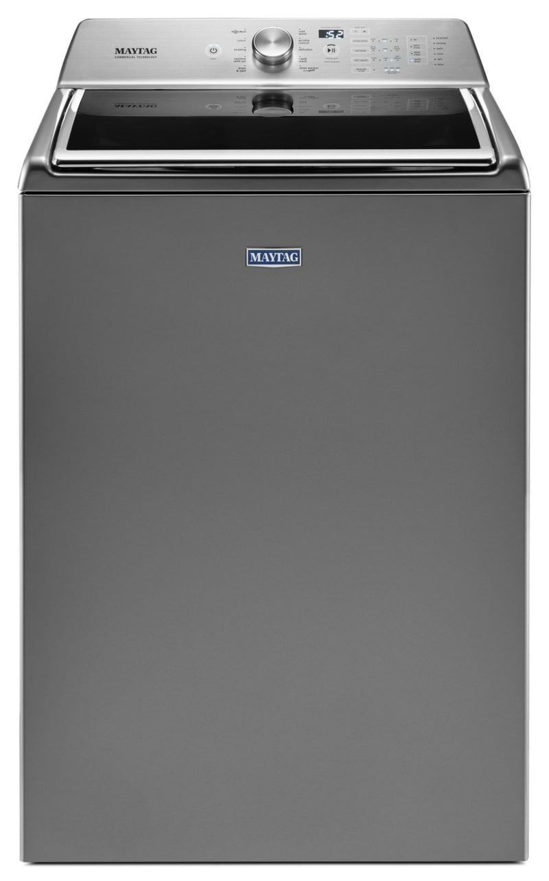 Maytag® 6.0 Cu. Ft. Top-Load Washer with PowerWash – MVWB865GC|Laveuse Maytag à chargement par le haut de 6,0 pi3 avec technologie PowerWashMC – MVWB865GC