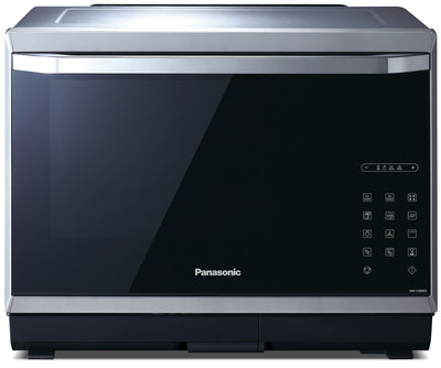 Panasonic 1.2 Cu. Ft. Steam Convection Countertop Microwave – NNCS896S - Countertop Microwave with Steam in Stainless Steel