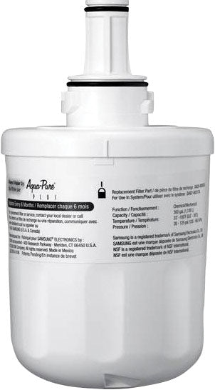 Samsung French Door Refrigerator Water Filter - Filter in White