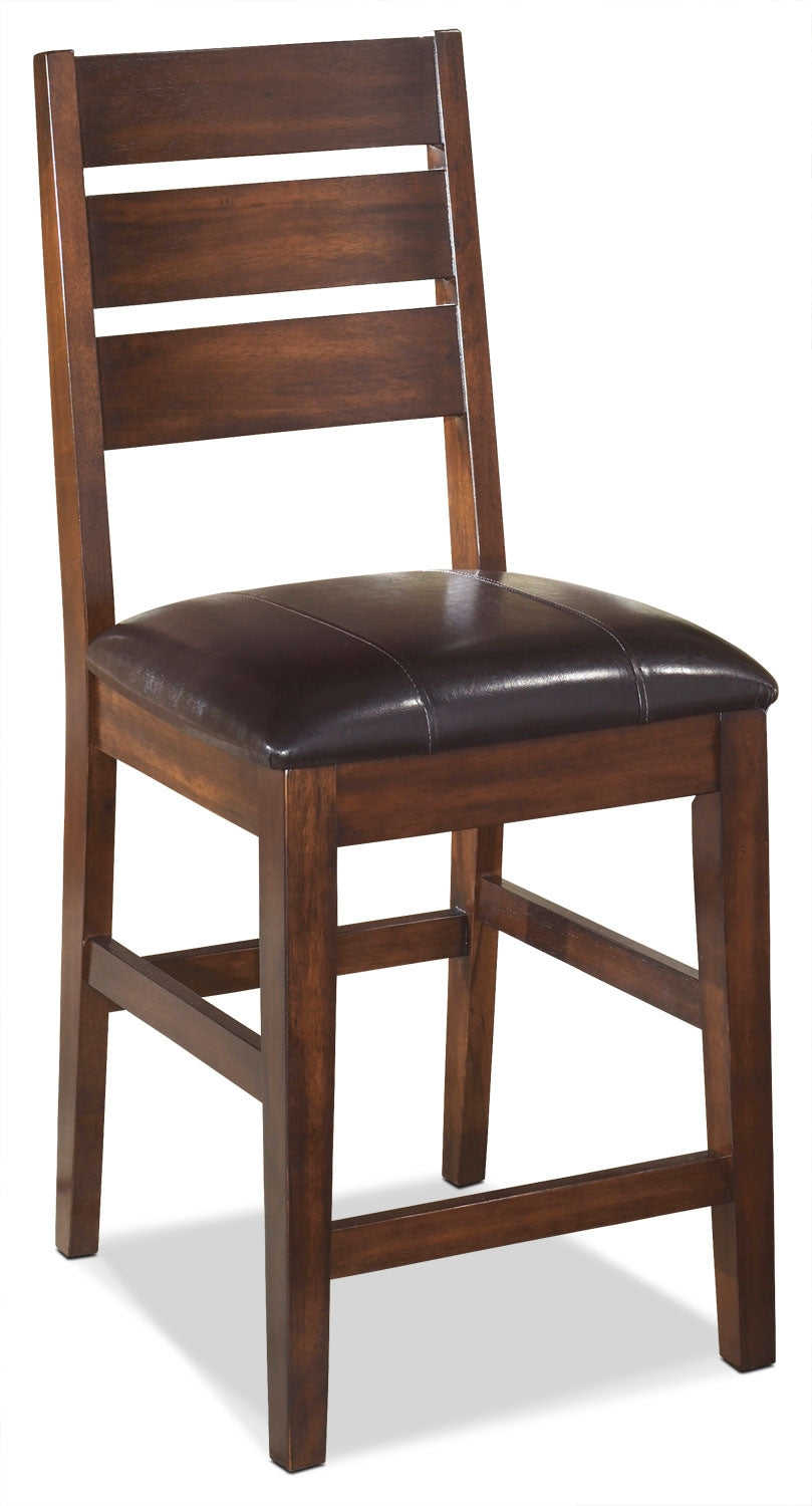 Fine Larchmont 24 Wood Back Bar Stool Ncnpc Chair Design For Home Ncnpcorg