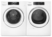 Whirlpool 2.6 Cu. Ft. Compact Washer and 4.3 Cu. Ft. True Ventless Compact Dryer