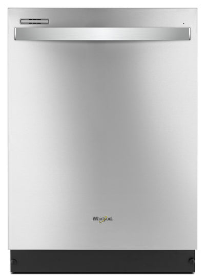 "Whirlpool 24"" Built-In Dishwasher with Sensor Cycle – WDT710PAHZ - Dishwasher in Stainless Steel"