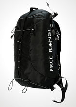 Free Range Equipment Raven backpack. Light, durable, simple, functional backpack to get you high in the alpine. Made in Bend, OR