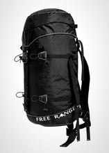 Free Range Equipment Big Medicine backpack. Light, durable, simple, functional backpack to get you high in the alpine. Made in Bend, OR.