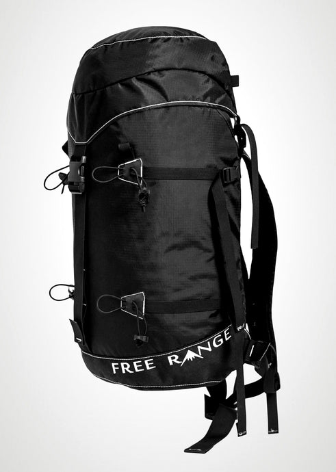 alpine skimo lightweight fast durable simple backpack touring local bend or tosch roy free range mountain