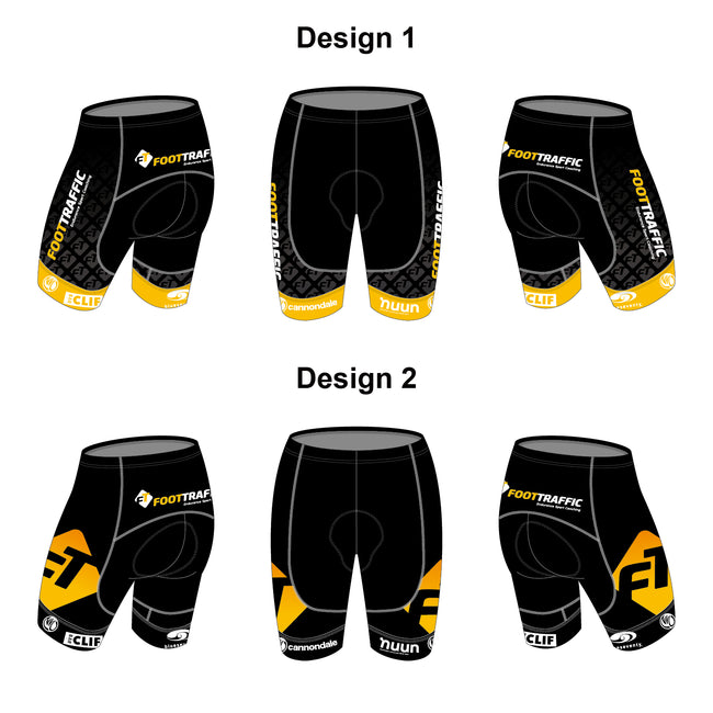 FOOTTRAFFIC Gold Men Cycling Shorts