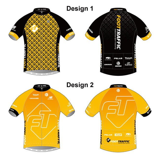 FOOTTRAFFIC Diamond Men's SS Cycling Jersey