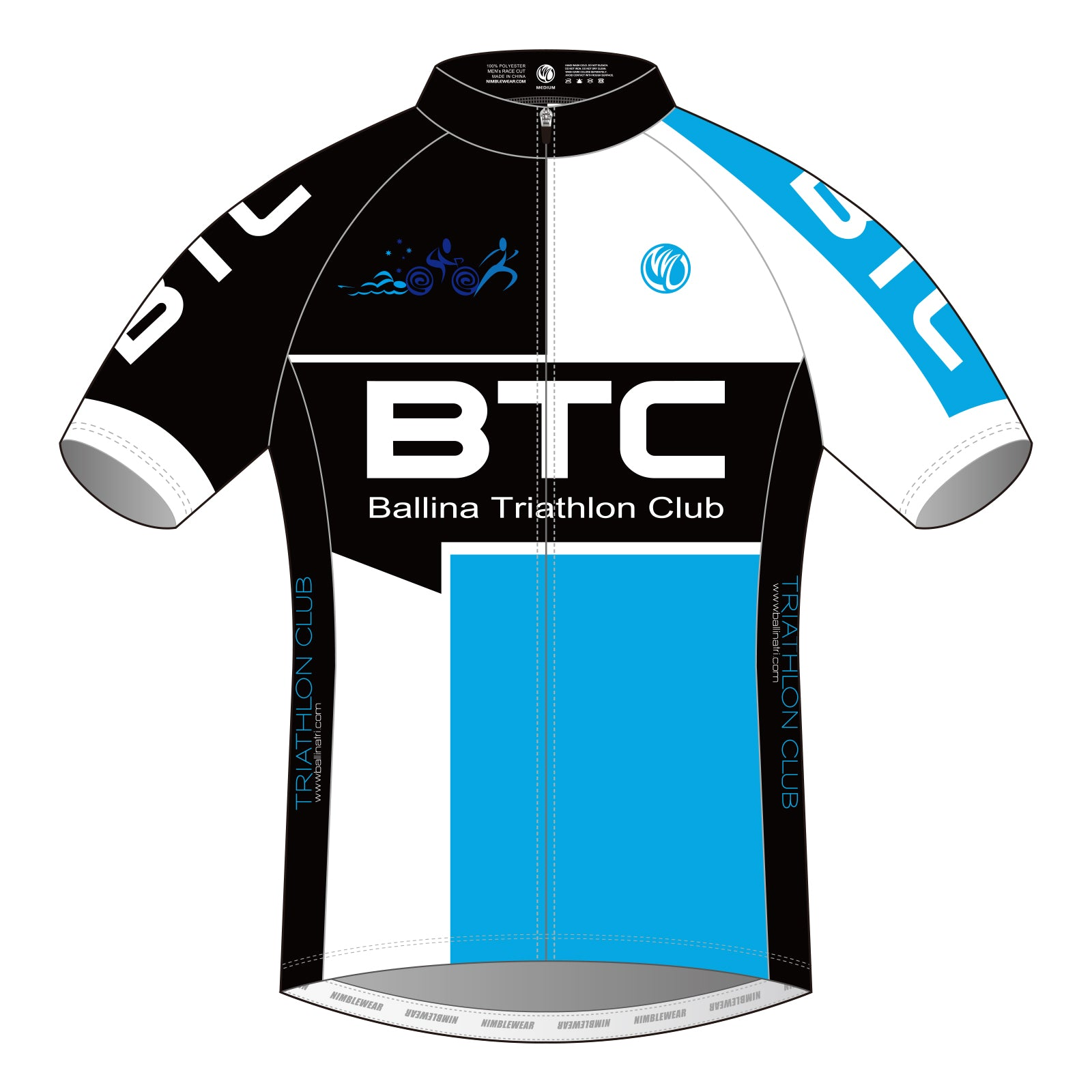 BTC PLATINUM SS Cycling Jersey