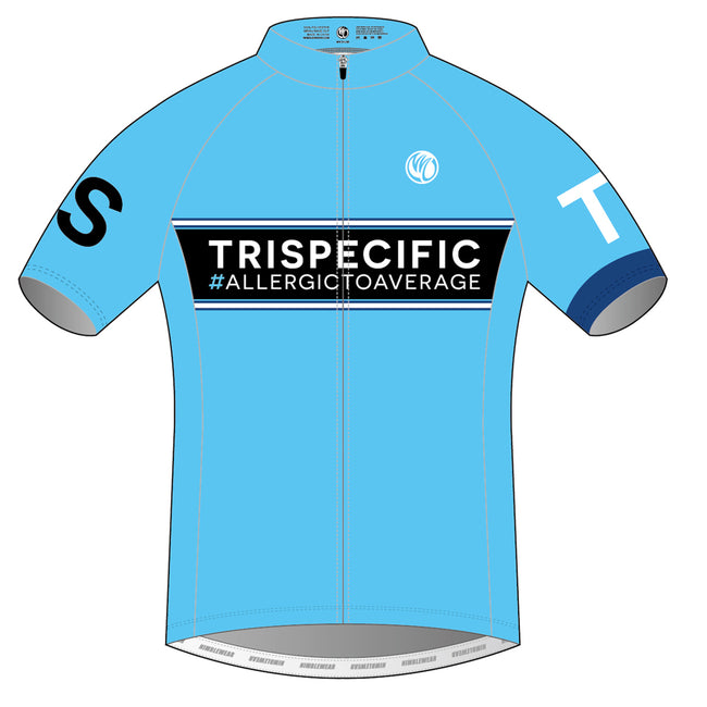 TRISPECIFIC PLATINUM Short Sleeve Cycling Jersey