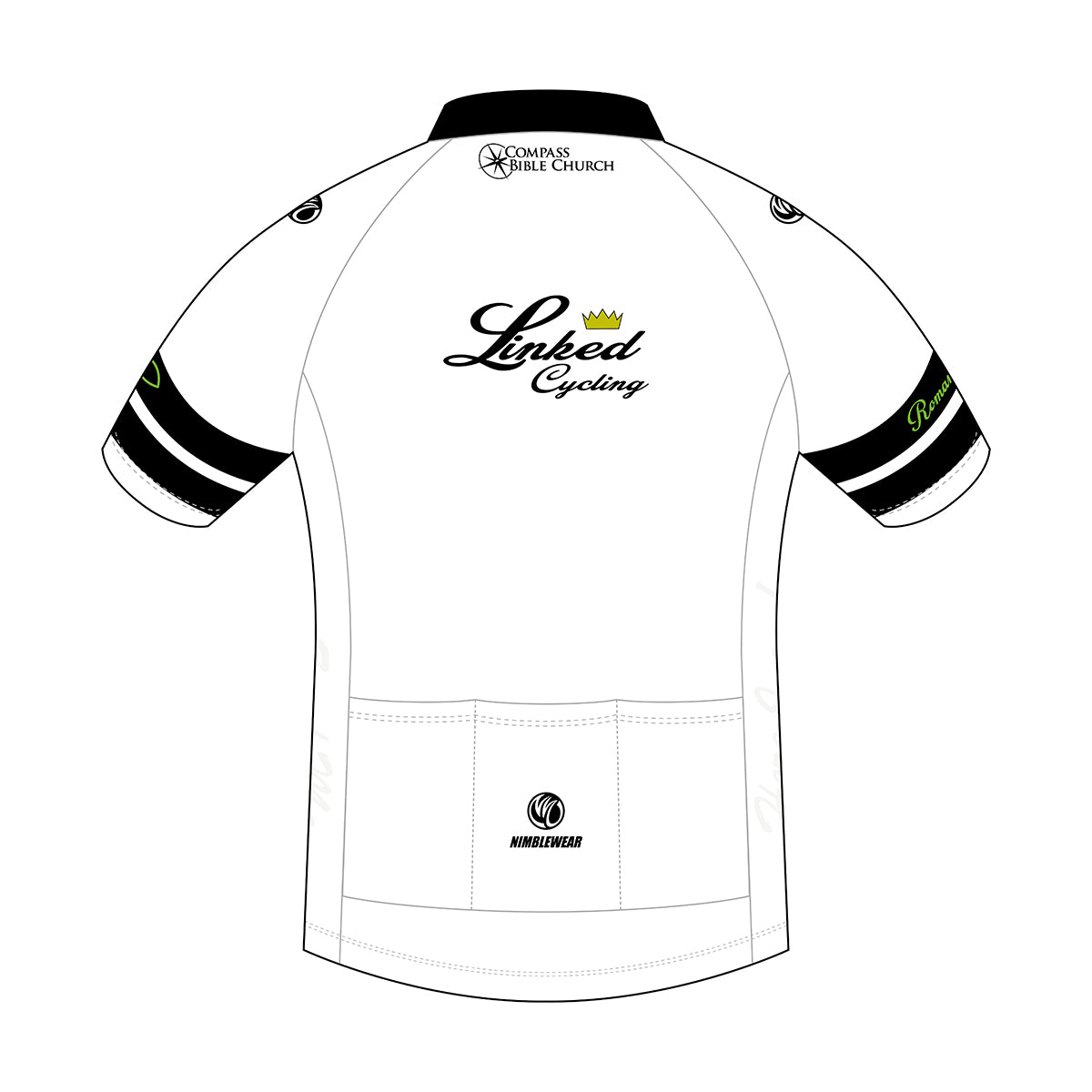 Linked Cycling SS Cycling Jersey White