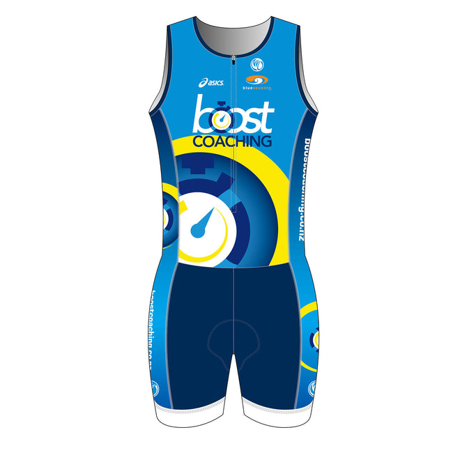 Boost Coaching SILVER Sleeveless Tri Suits