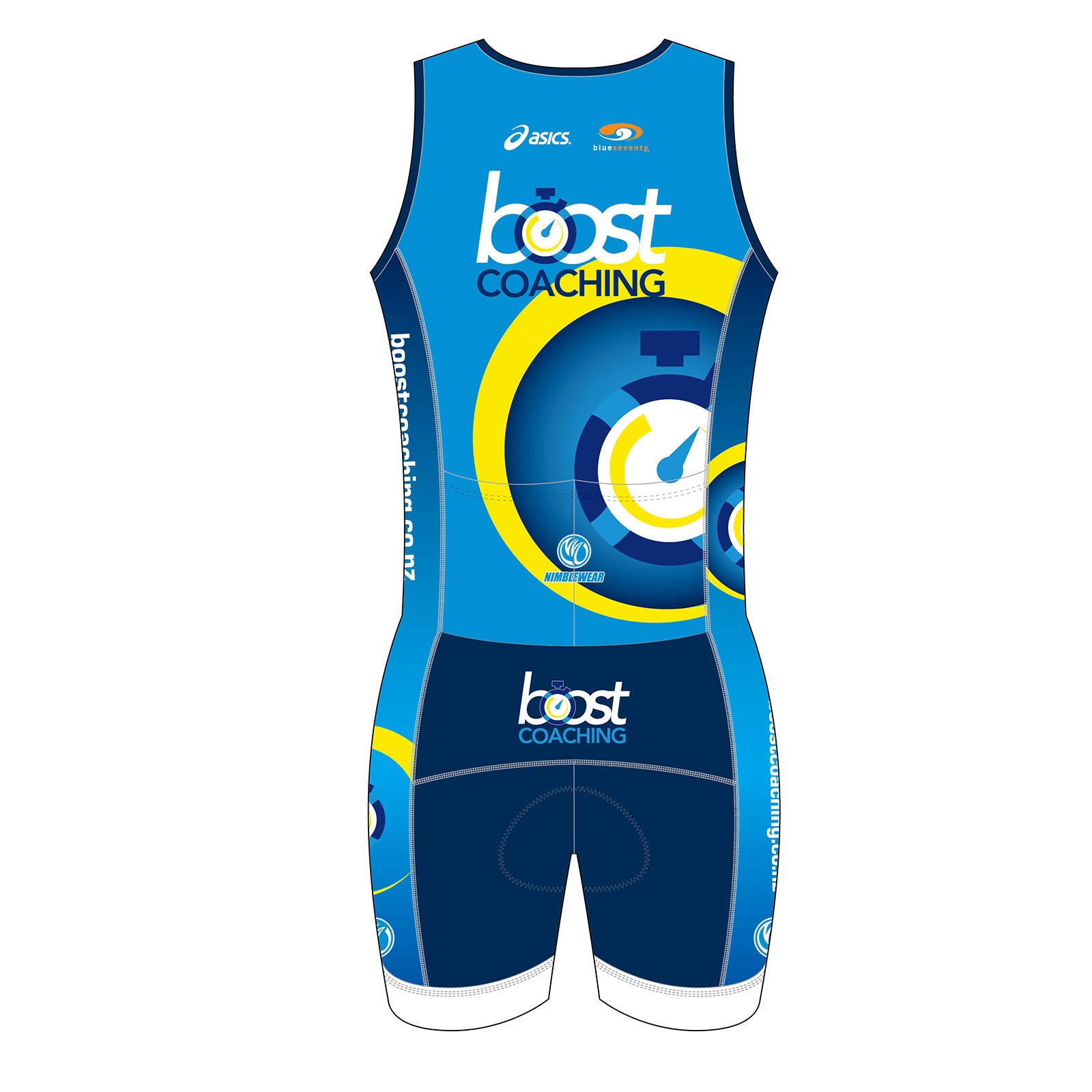 Boost Coaching GOLD Sleeveless Tri Suits