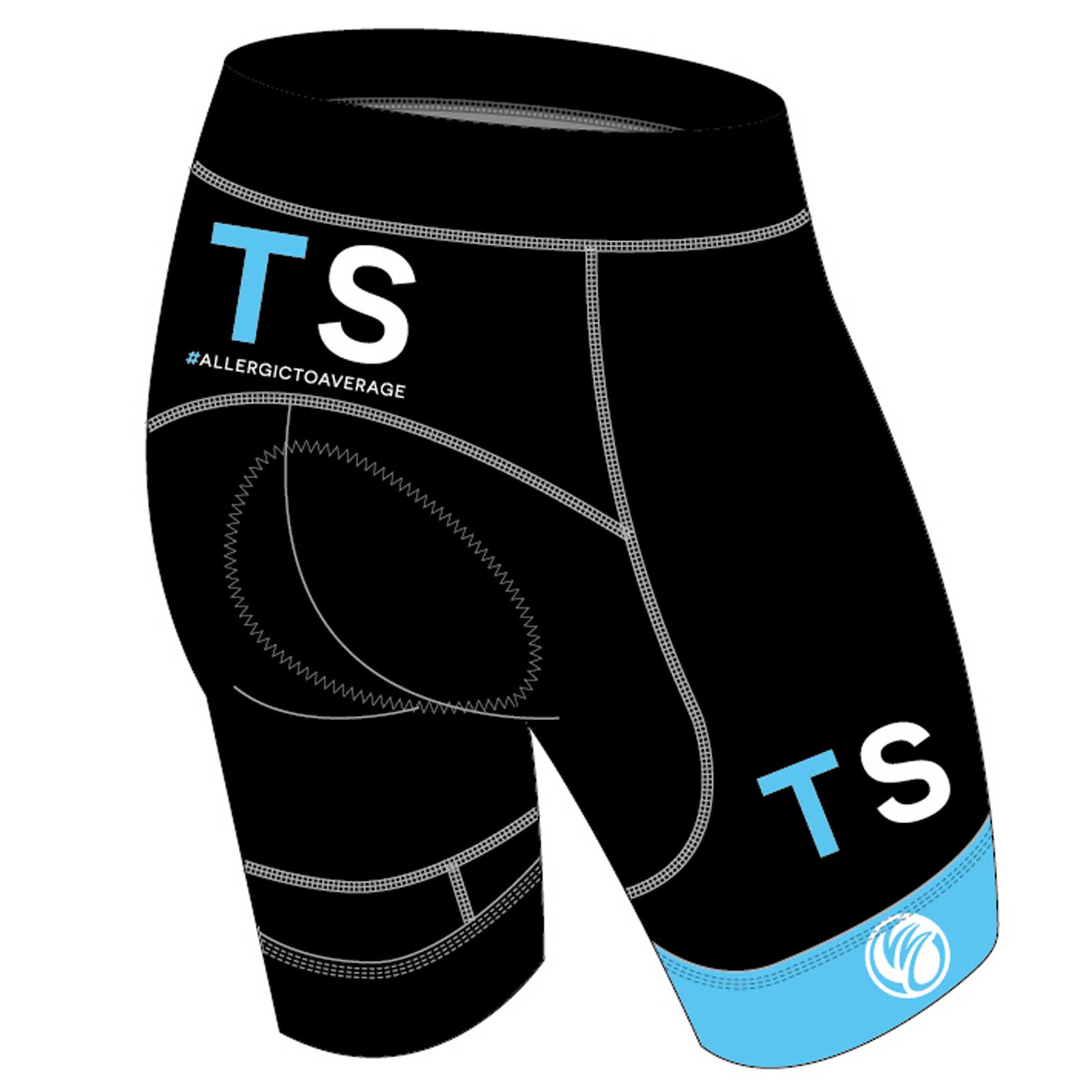 TRISPECIFIC DIAMOND Cycling Shorts