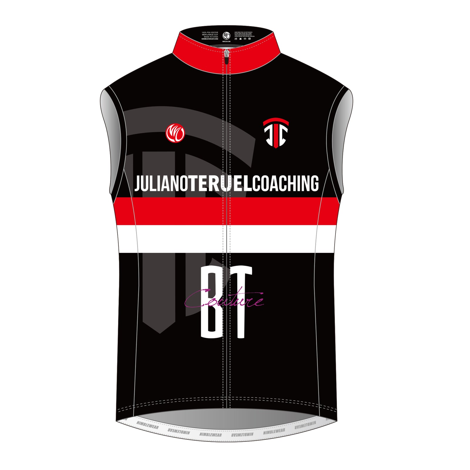 Juliano Teruel DIAMOND Cycling Vest