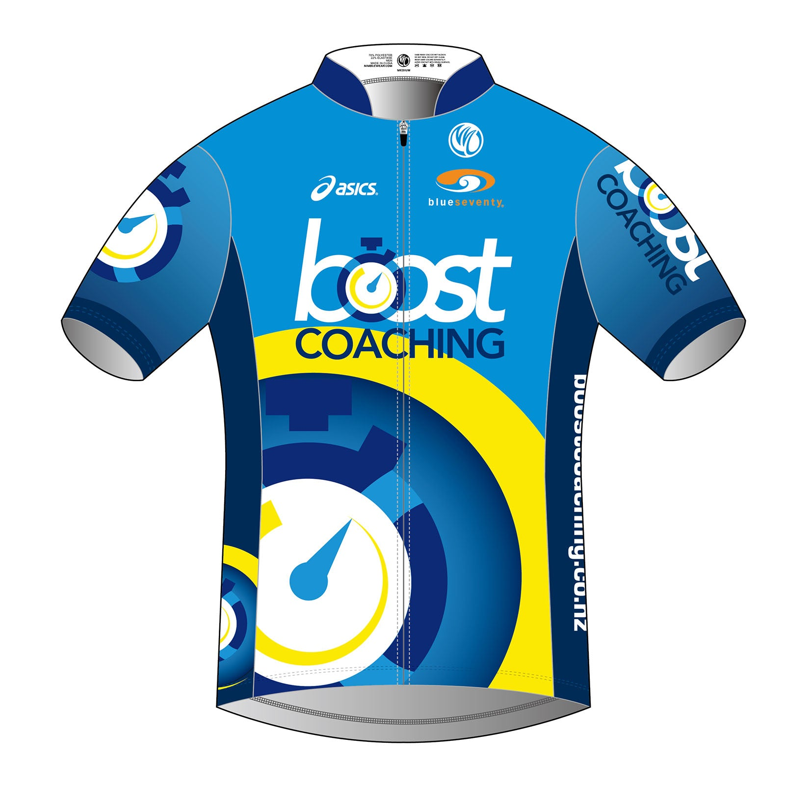 Boost Coaching PRO Men's SS Tri Top