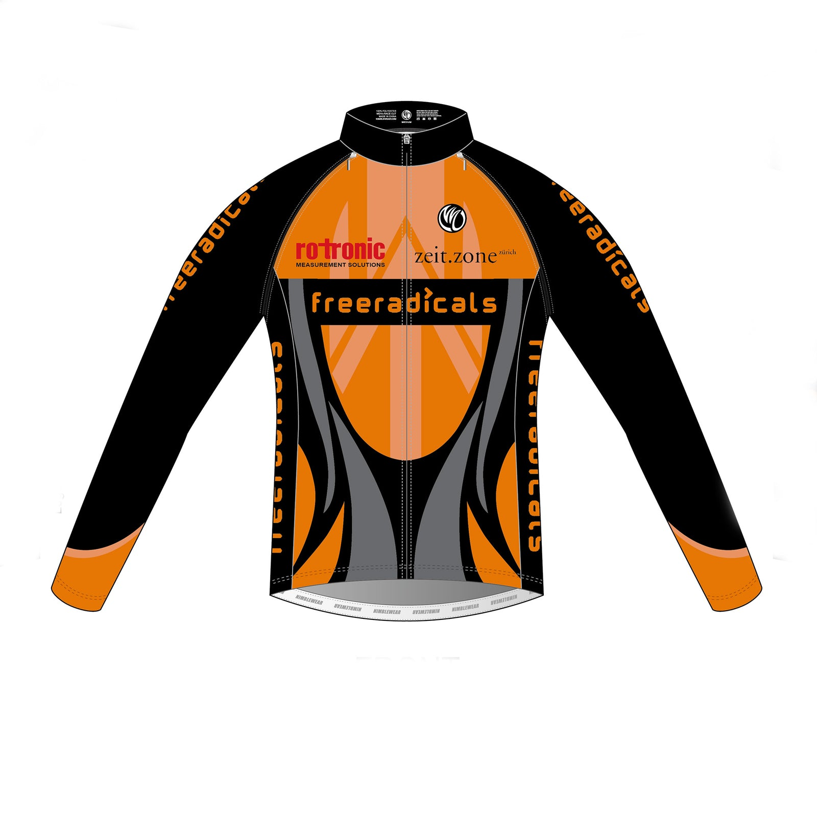 Freeradicals PLATINUM Detachable Cycling Jacket