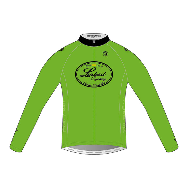 Linked Cycling Winter Jersey Green