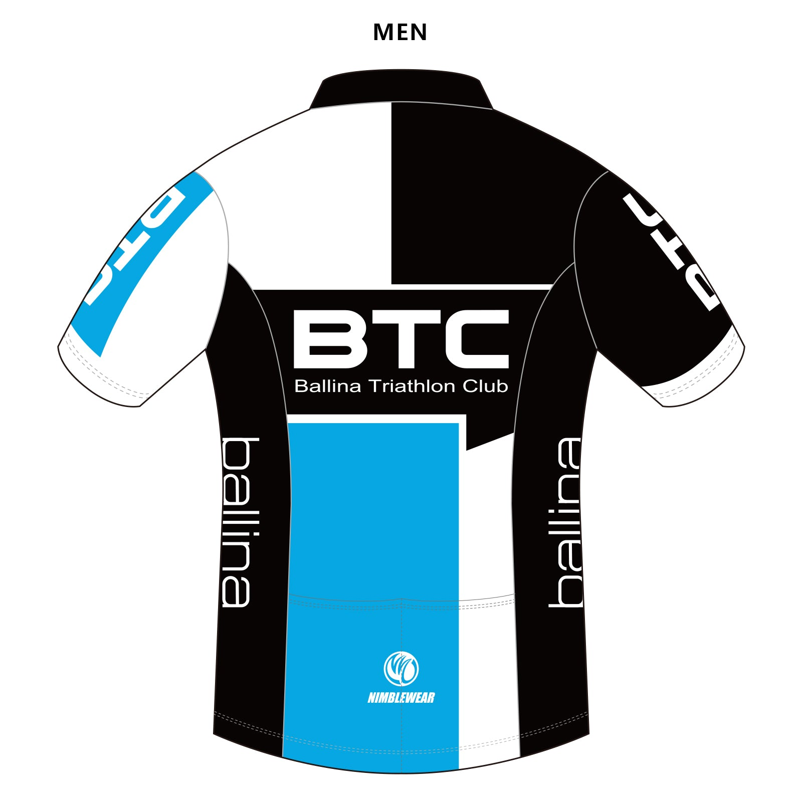 BTC DIAMOND SS Tri Top, COLDBLACK