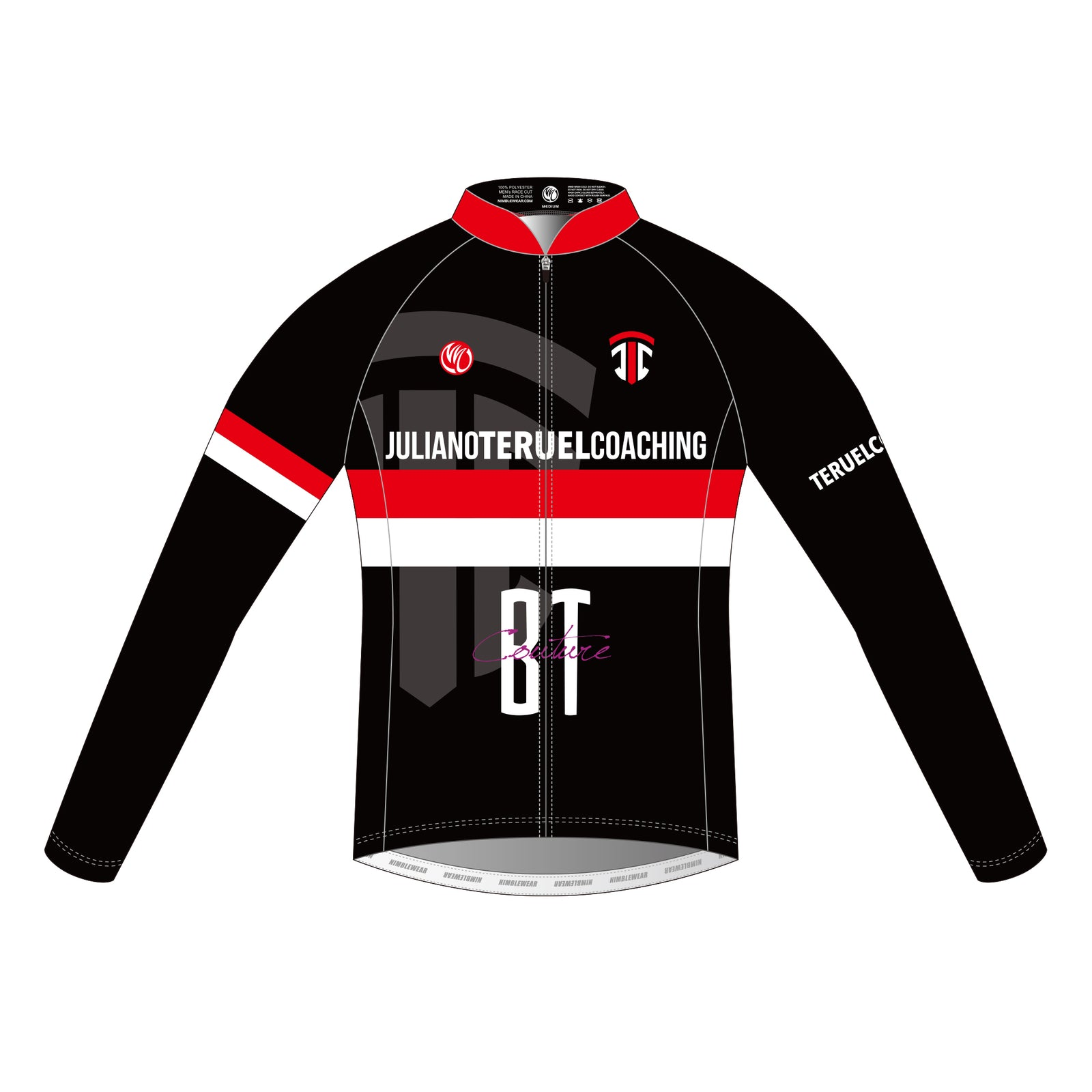 Juliano Teruel LS Cycling Jersey