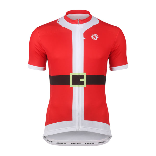 Santa Christmas SS Cycling Jersey