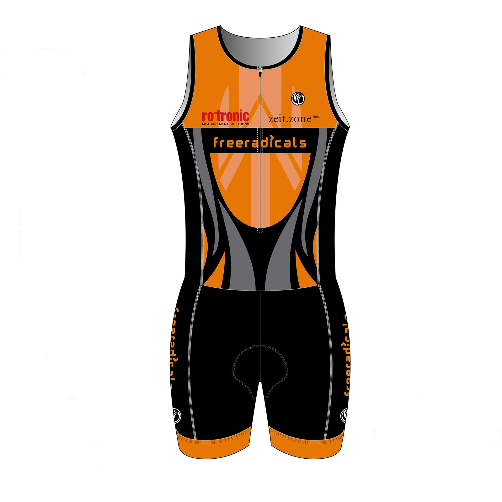 Freeradicals GOLD Sleeveless Tri Suit