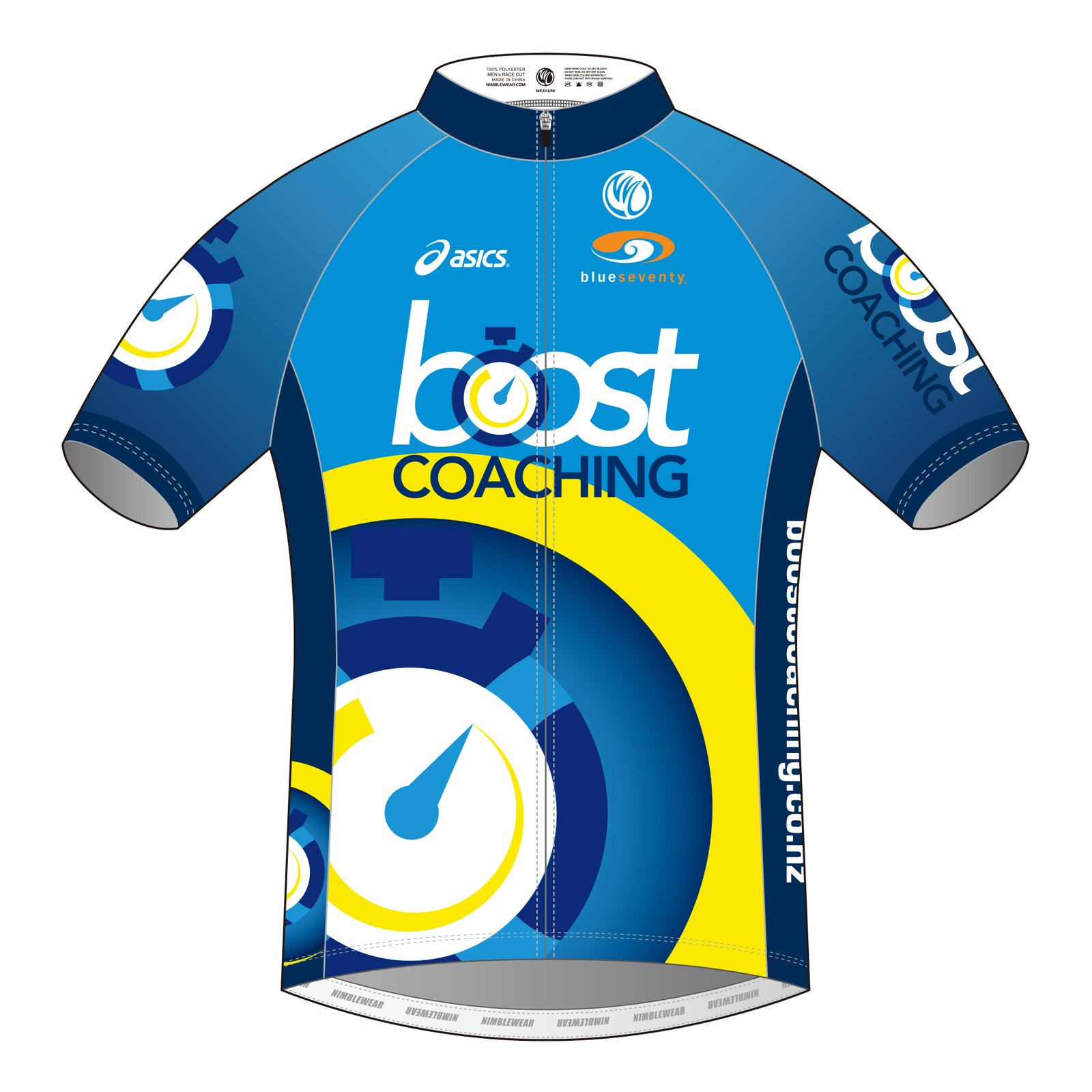 Boost Coaching GOLD SS Cycling Jersey