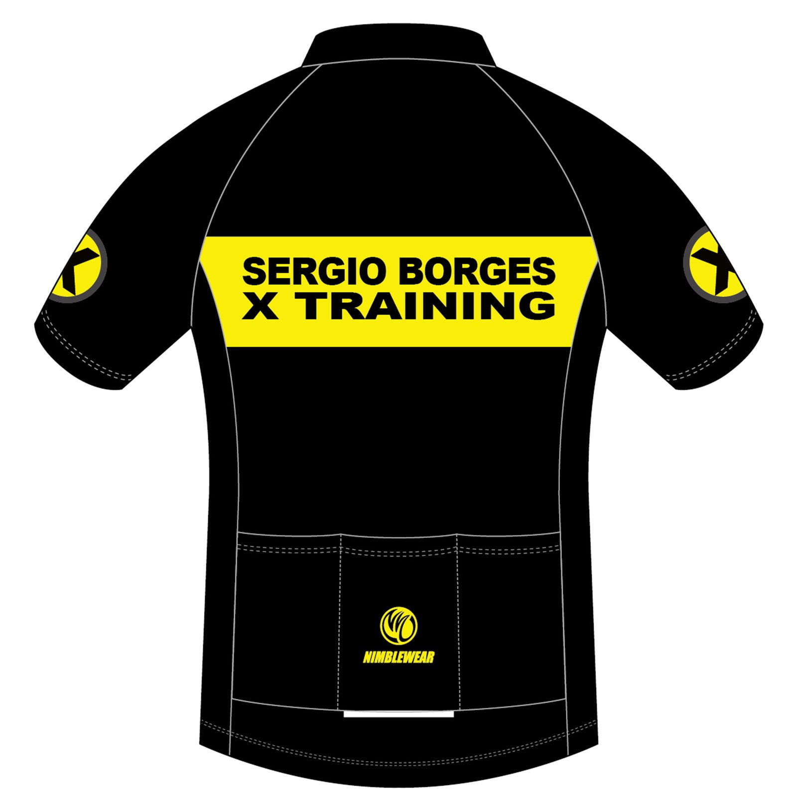 Sergio GOLD Short Sleeve Cycling Jersey